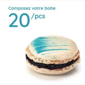 Espace sucré - Boîte 20 Macarons