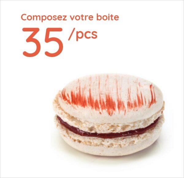 Espace sucré - Boîte 35 Macarons